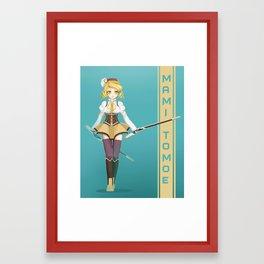 Mami Framed Art Print
