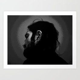 Frusciante Self Art Print