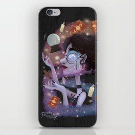 Witch Casting iPhone Skin