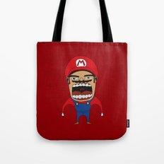 Screaming Mario Tote Bag