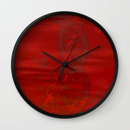 Pharmakembru DNA Chains Wall Clock