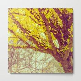 Yellow Dream Metal Print