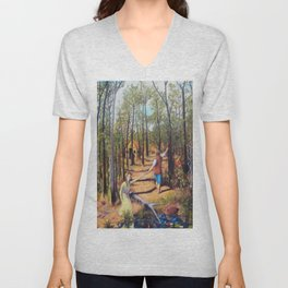 Hansel and Gretel Unisex V-Neck