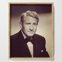 Spencer Tracy, Hollywood Legend Serving Tray