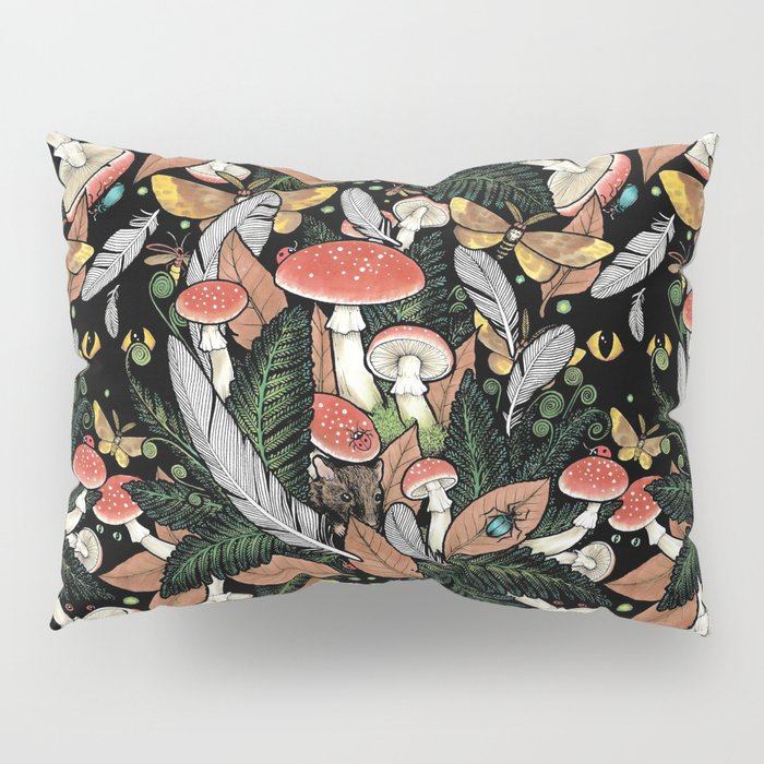 Nocturnal Forest Pillow Sham