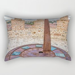 Sundial Rectangular Pillow