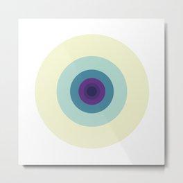 #427 Fibonacci's left eye – Geometry Daily Metal Print