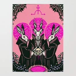 Bloodletting ritual Poster