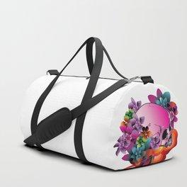 Skull Wave Duffle Bag
