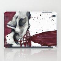 in the flesh iPad Cases featuring Flesh Tear by Daniella Walker