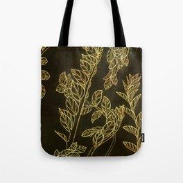 golden school plants Tote Bag