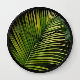 Tropical Hawaii II Wall Clock
