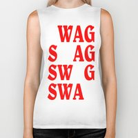 swag Biker Tanks featuring swag by quality products