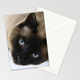 Siamese Soulful Expression Stationery Cards