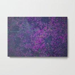 Purple Moss Metal Print