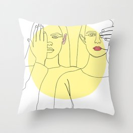 Spot on Throw Pillow