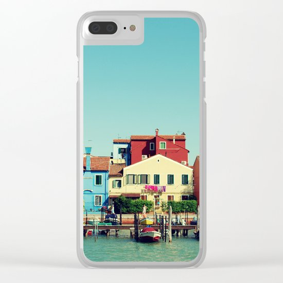 Burano, the beautiful Clear iPhone Case