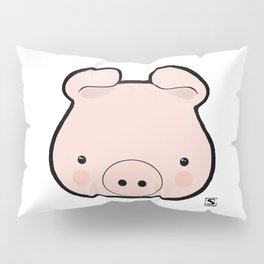 Piggy Kawaii Pillow Sham