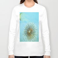 transparent Long Sleeve T-shirts featuring Transparent-Sea by Bella Blue Photography