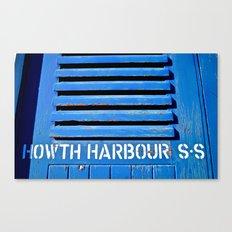 Howth Harbour Shutter Canvas Print