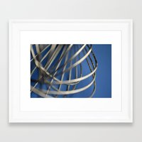 baking Framed Art Prints featuring Baking by Kima