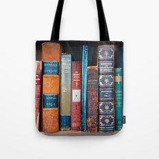 Old Books Tote Bag