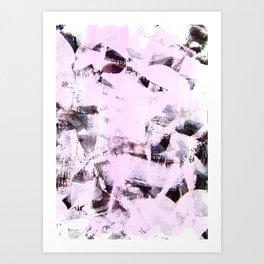 pink-purpe Art Print