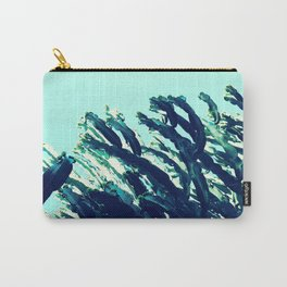Wild west | cactus blue green sky photography Carry-All Pouch