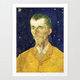 Vincent Van Gogh - Eugene Boch Art Print