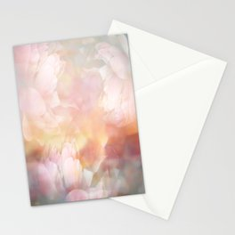 Minty Blue landscape Stationery Cards