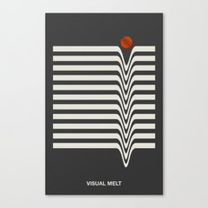 Visual Melt Canvas Print