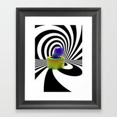 Random Shapes Framed Art Print