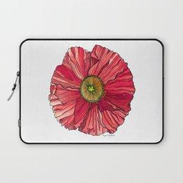 Red Poppy Laptop Sleeve
