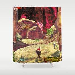 Kong Island Shower Curtain