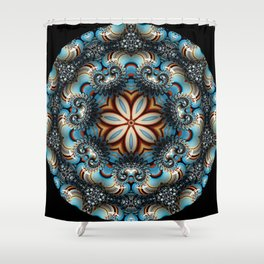 Oceans Deep Shower Curtain