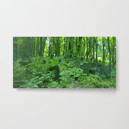 Green Warsaw Metal Print