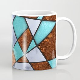 #477 Marble Shards & Copper Coffee Mug