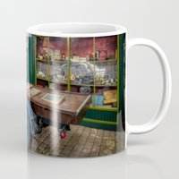 truck Mugs featuring Vintage Truck by Adrian Evans