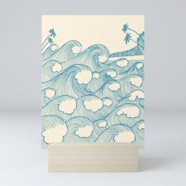 Waves Mini Art Print
