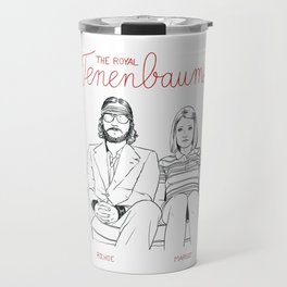 The Royal Tenenbaums (Richie and Margot) Travel Mug