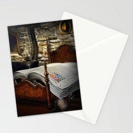 A fairytale before sleep Stationery Cards