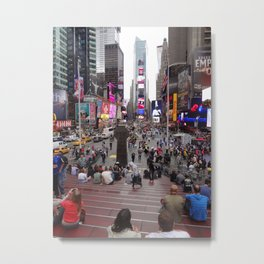 Times Square, New York, 5th Avenue Metal Print