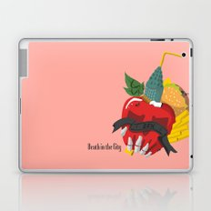 Death in the city Laptop & iPad Skin