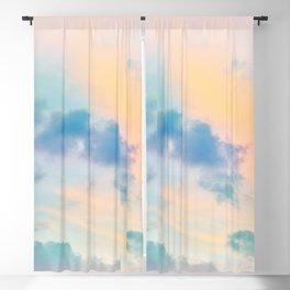 Unicorn Pastel Clouds #6 #decor #art #society6 Blackout Curtain