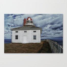 Lighthouse in Newfoundland, Canada Canvas Print