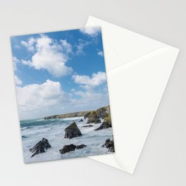 Bedruthan Steps Newquay Cornwall Stationery Cards