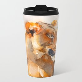 Lioness Metal Travel Mug