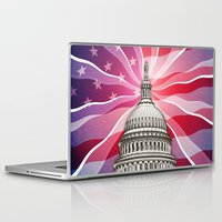 politics Laptop & iPad Skins featuring The World of Politics by politics
