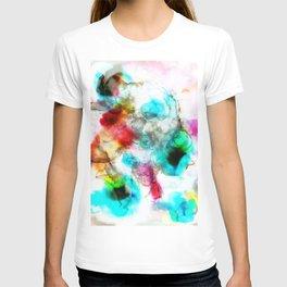 colorful smoke inks T-shirt