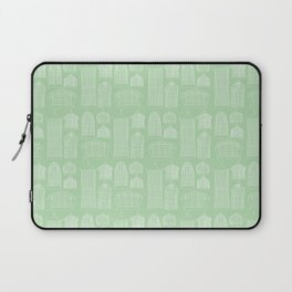 Birdcages (Green) Laptop Sleeve